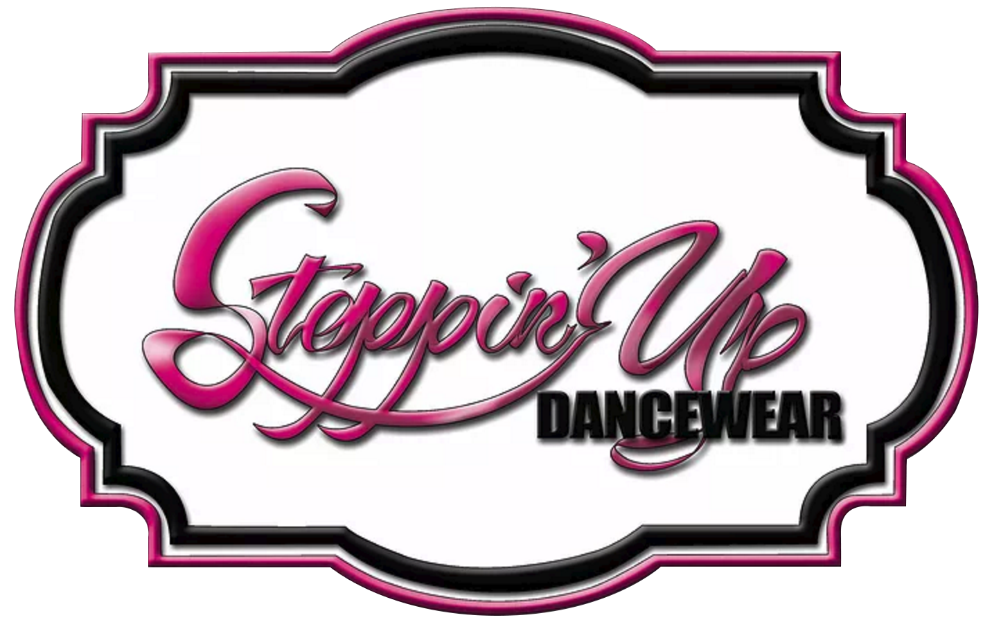 Steppin' Up Dancewear logo