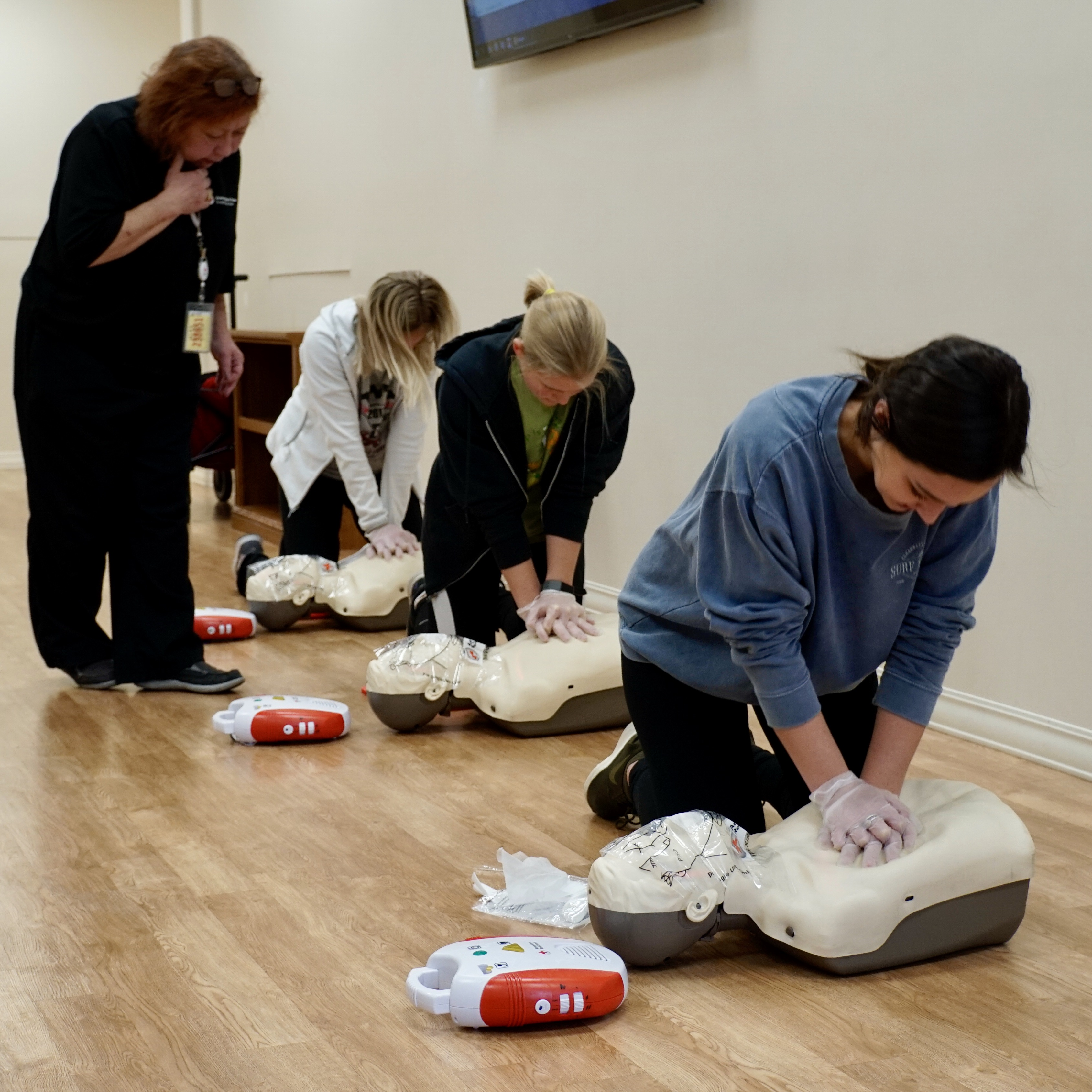 photo of cpr training