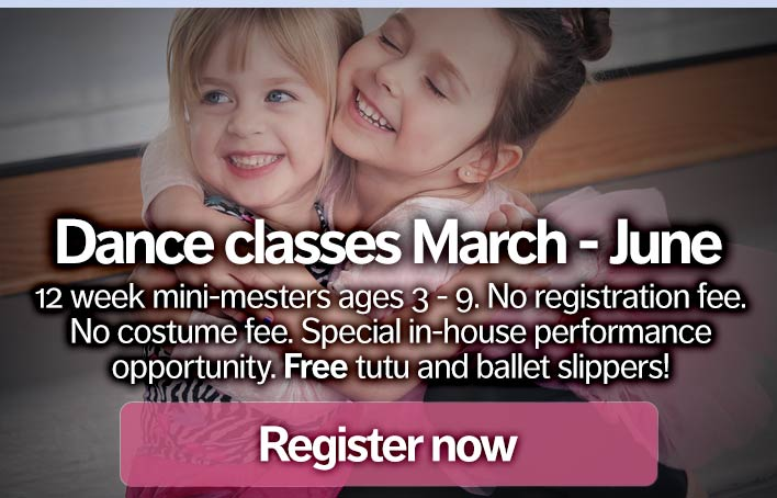 image of Dance class mini-mesters starting at West Chester Academy