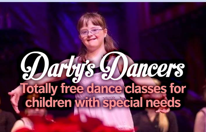 Darby's Dancers special need free dance classes image