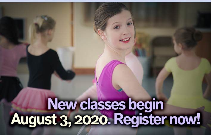 Register today for fall classes!