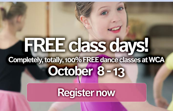 Free classes - click to sign up!